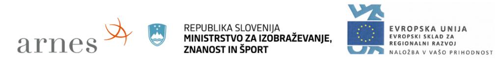 Arnes Ministrstrvo za izobraževanje, znanost in šport, Evropska unija Logotip